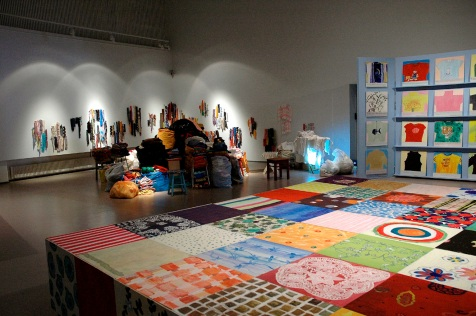 Installation View, in Hyvinkää Art Museum 2005