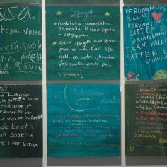 Favorite recipies of the children of Hyvinkää.