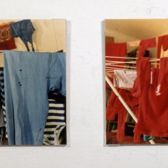 """Wash"", Photographs on mdf 55 x 55 cm"