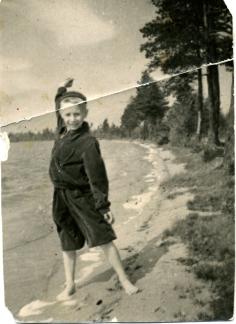 Sasha and lake Ladoga