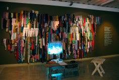 Installation View at Museum of Cultures, Helsinki 2008.